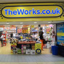 The Works sees jump in like-for-like sales