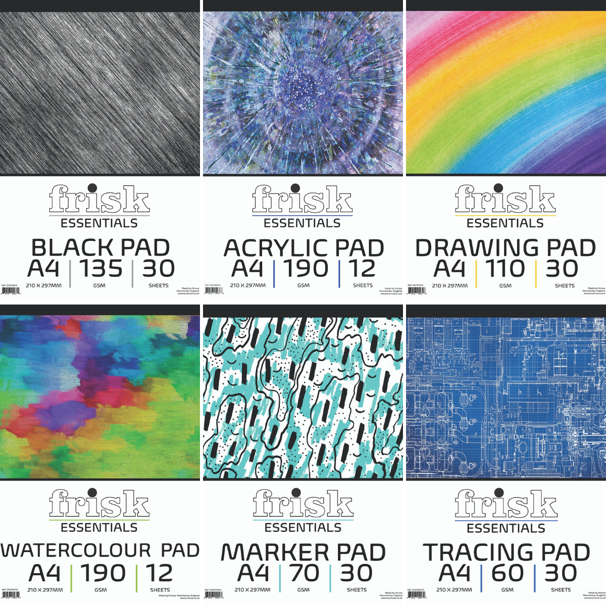 Artcoe launch brand new range of artist pads