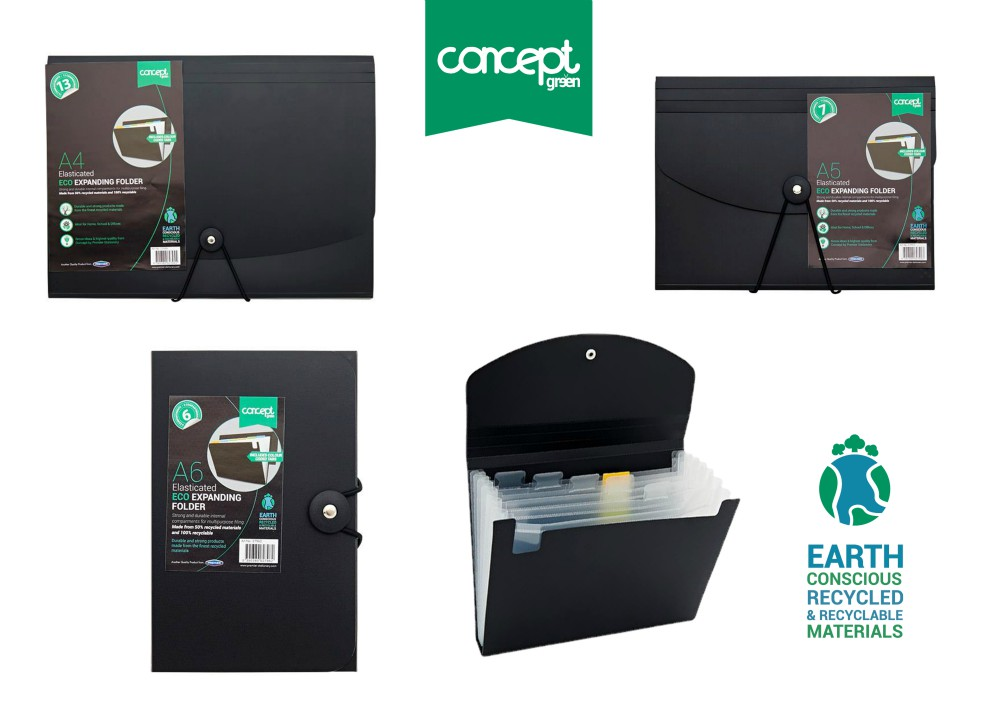 Premier Stationery launch Concept Green range