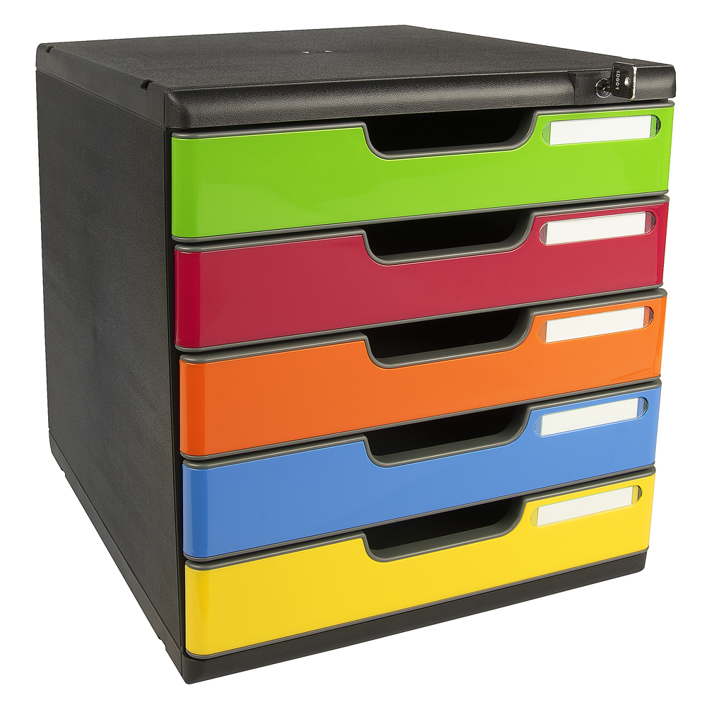 ExaClair launches new range of MODULO lockable drawer sets